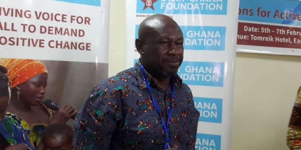 Director for STAR Ghana Foundation Mr Ibrahim Tanko Amidu