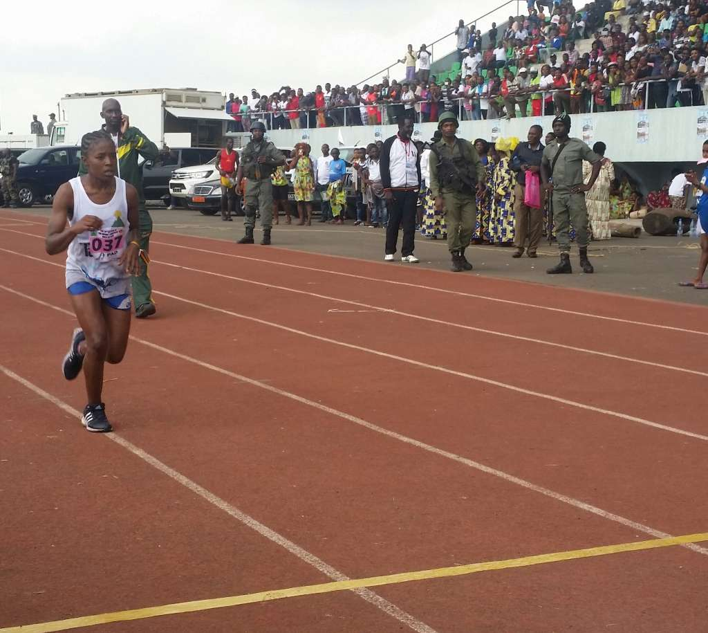 Tatah Carine wins the race for a second time