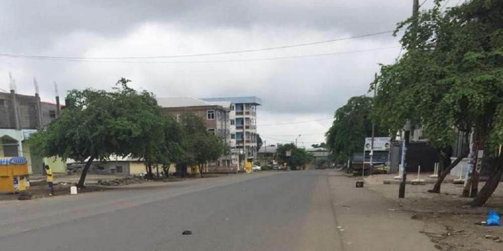 ghost towns are religiously respected in Buea on Mondays