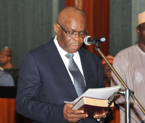 Chief Justice of Nigeria, Walter Onnoghen.
