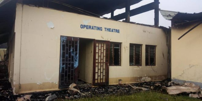 There has been wide condemnation of the hospital attack