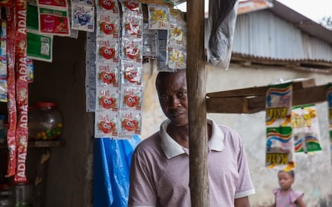 Isaac Seeman, Ebola survivor, did not give his consent for blood samples to be taken abroad CREDIT: EMMANUEL FREUNDTHAL