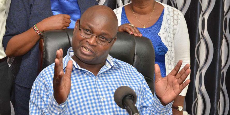 Kenya National Union of Nurses secretary-general, Seth Panyako. PHOTO | FRANCIS NDERITU | NMG