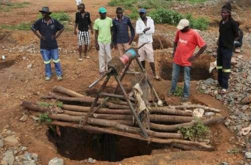 Dozens Die In Flooded Mine in Zimbabwe