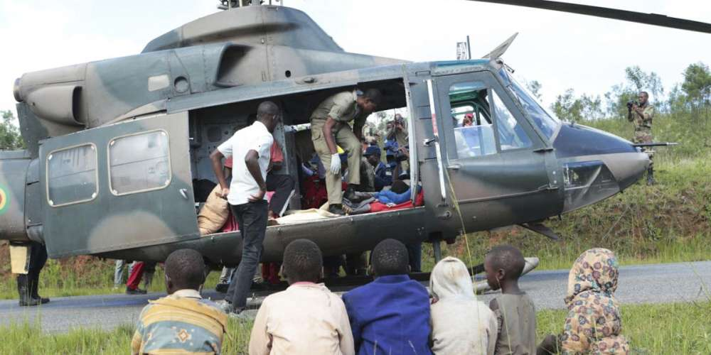EU in Zimbabwe provides helicopter for cyclone Idai relief operation