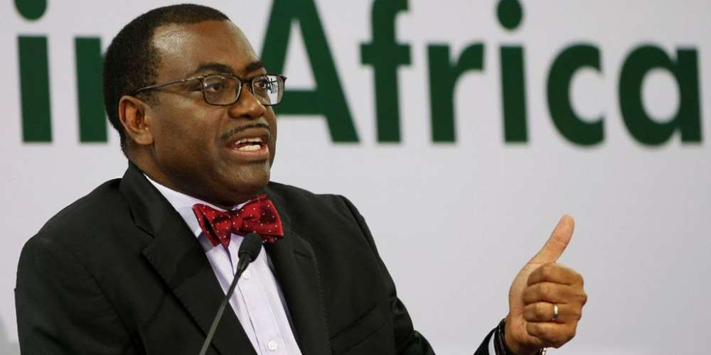 President of the African Development Bank Dr Akinwumi Adesina