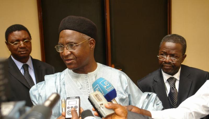 Bello Bouba Maigari, chairman of NUDP