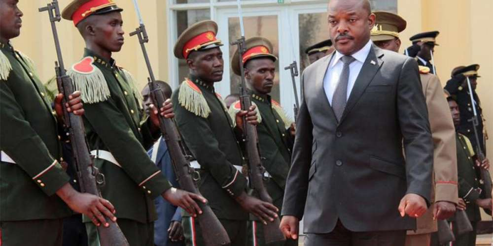 President Pierre Nkurunziza (photo credits: Human Rights Watch)