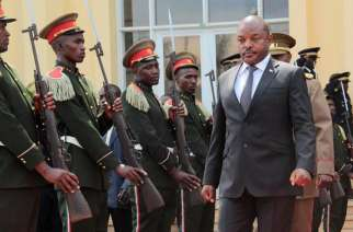 President Pierre Nkurunziza (photo credits: Human Rights Watch)