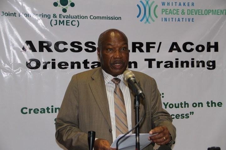 R-JMEC, interim chairperson Lt Gen. Augostino S.K Njoroge