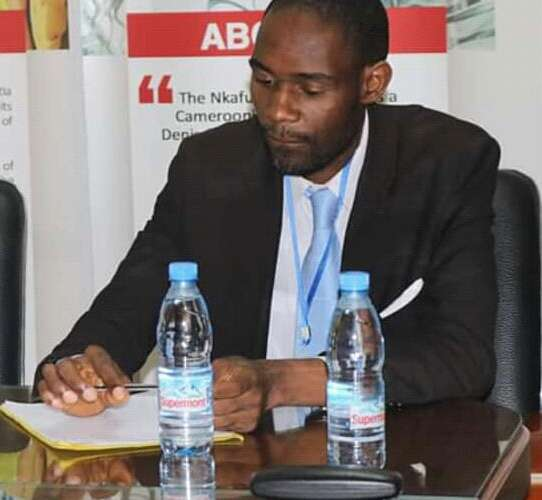 Dr. Hugue Nkoutchou, author of the report on Cameroon's 2019 budget