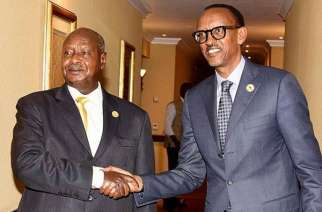 Museveni of Uganda and Kagame of Rwanda used to be close allies