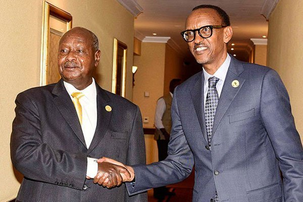 Museveni of Uganda and Kagame of Rwanda used to be close allies