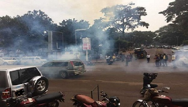 Ghana:UEW shutdown; Police fire tear gas amid student protest.