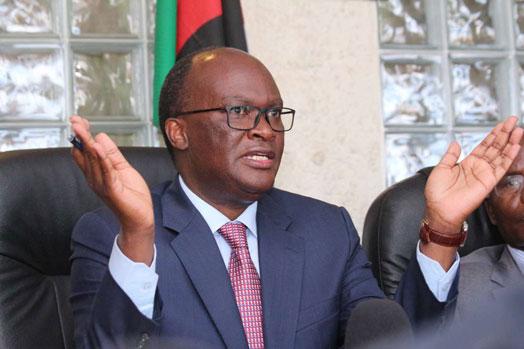 Cabinet Secretary for Transport, James Macharia
