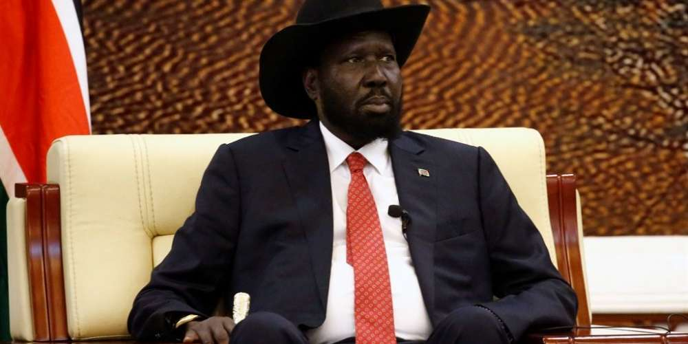 President of South Sudan, Salva Kiir