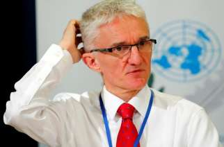 UN humanitarian chief Mark Lowcock