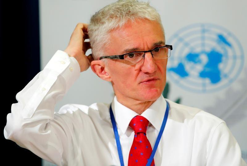 UN humanitarian chief Mark Lowcock