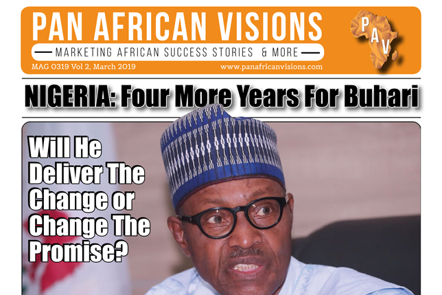 Pan African Vision News Magazine VOL 9 – March 2019