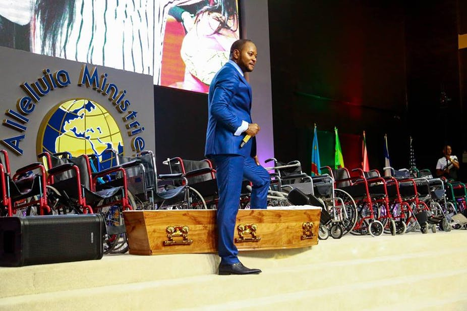"""Pastor Alph Lukau's church has been called out for performing fake """"miracles"""".  Image: Alph Lukau/Facebook"""