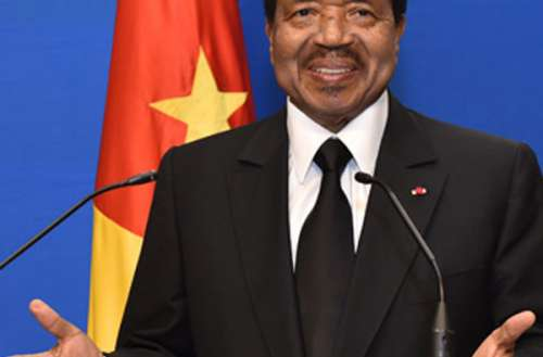 Paul Biya, President of the Republic of Cameroon