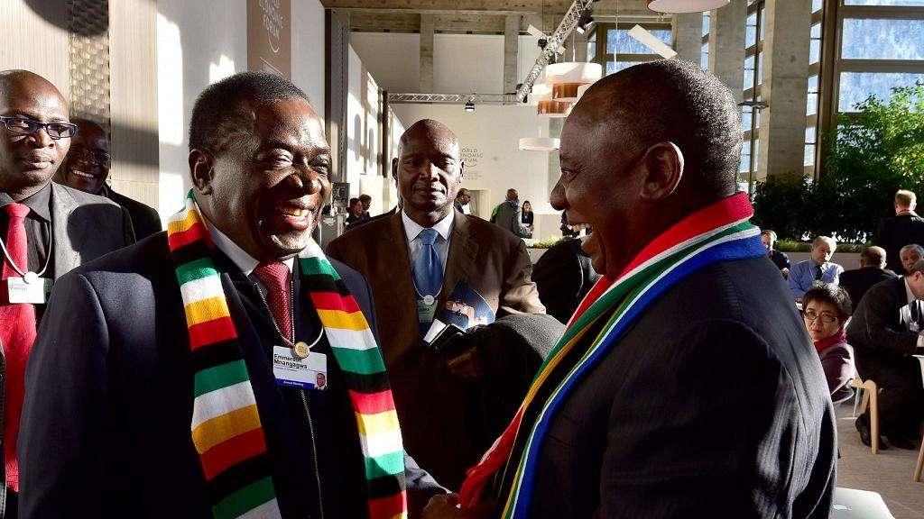Mnangagwa and Ramaphosa are all smiles about Zimbabwe-South African relations