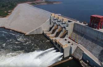 Hydroelectric dam in Cameroon under construction with finance from World Bank (photo credit: World Bank Group)