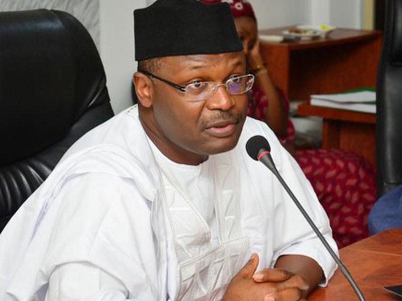 Chairman, Independent National Electoral Commission ( INEC), Prof. Mahmood Yakubu