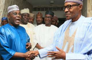 Leading opposition challenger Atiku Abubakar and incumbent President Buhari are in their 70s
