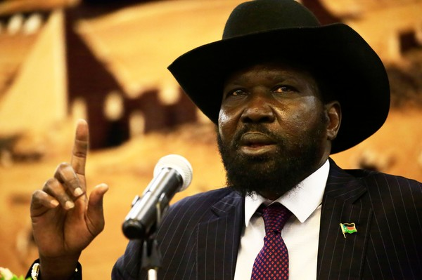 South Sudan president Kiir warns opposition groups to refrain from recruiting soldiers