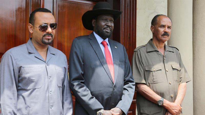 Kiir, Abiy, Afwerki agree to work for peace in South Sudan, advance regional teamwork
