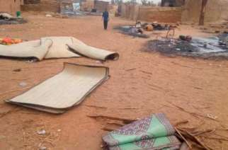 An entire village was razed down (photo credits: CNN)