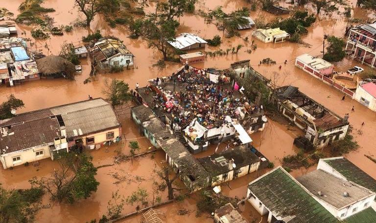 """Tragedy in the center of Mozambique: """"everything is destroyed"""""""