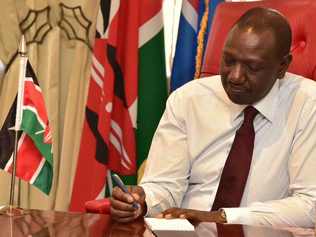 Deputy President William Ruto