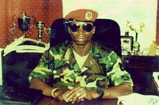 Jammeh in 1994. Photo: ghheadlines.