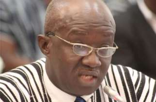 Aviation Minister Joseph Kofi Adda