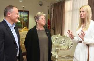 White House Advisor to the U.S. President Ivanka Trump Arrives in Addis Ababa