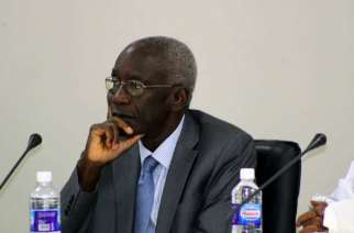 Dr. Lamin J. Sise is Chairperson, TRRC