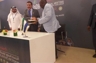 Sierra Leone:Minister of Finance Signs $22 million Rice Value Chain Agreement with IDB