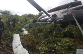 Mozambique: Military helicopter crashes in the north of the country