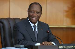 """Women play as critical a role as men in the growth of our economy ,"" President Ouattara said at the Summit"