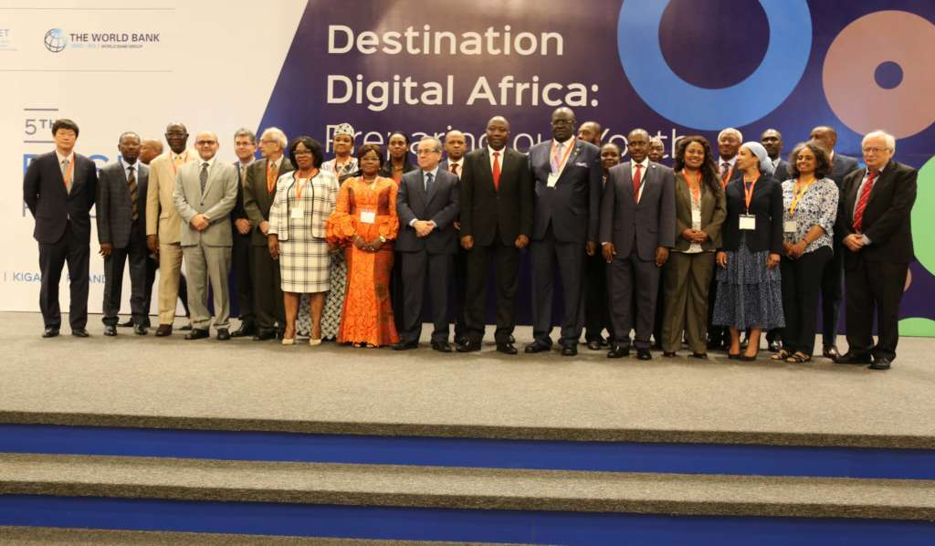5th Regional Forum for the Partnership for Skills in Applied Sciences, Engineering and Technology attendees pose for a photo