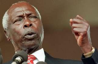 Former President Daniel arap Moi