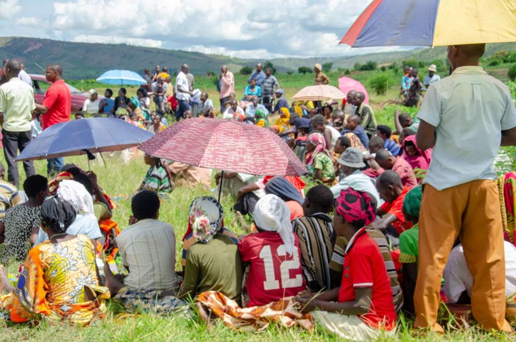 Farmers in Rwinkwavu Sector of Kayonza District celebrate bumper harvest but decry poor market