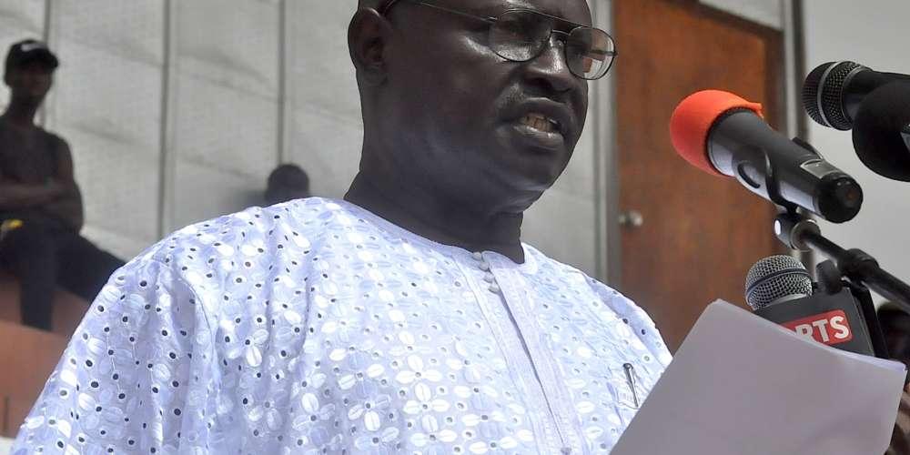 Gambia's trade minister, Lamin Jobe