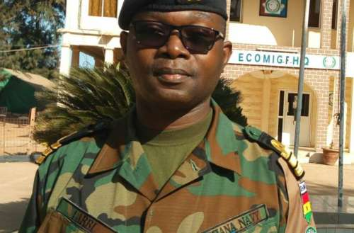 Colonel Abubakar A. Bello, Acting Force Commander