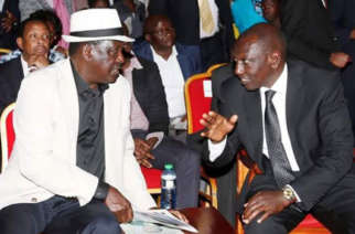 Opposition leader Raila Odinga and Vice President Ruto are front runners to succeed President Uhuru Kenyatta in 2022