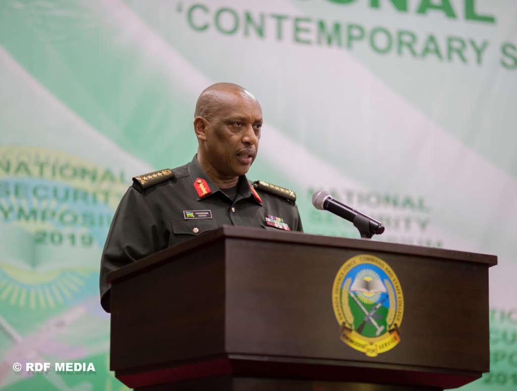 Rwanda's Chief of Defense Staff General Patrick Nyamvumba