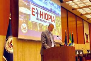 Assistant Secretary of State for African Affairs, Tibor Nagy during his address at the #EPF2019