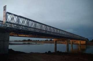 New EU-funded bridge in Warrap State, South Sudan. Photo: WFP/ Espionola Caribe